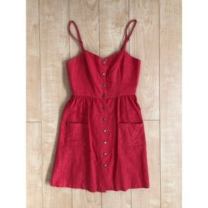 Cope Linen Dress